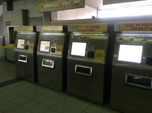 SVC Machines Testing In Progress at LRT Recto Station, 25 May 2015